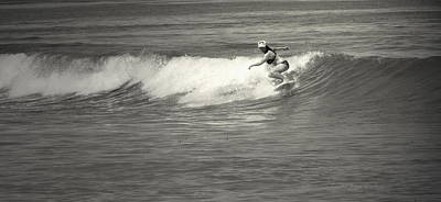 Photograph - Asilomar Surfing Girls Do It Too by Joyce Dickens
