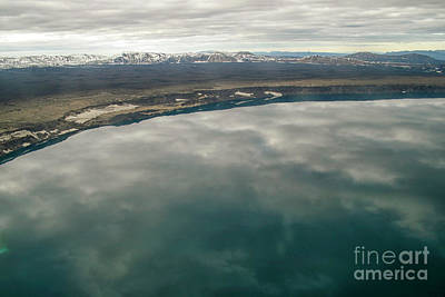 Photograph - Askja And Crater Lake by Patricia Hofmeester