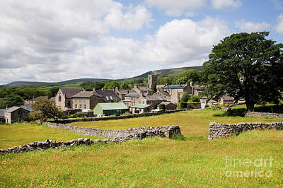 Photograph - Askrigg Village Meadows by Gavin Dronfield