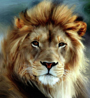 Painting - Aslan by Valerie Anne Kelly