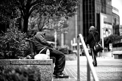 Photograph - Asleep On 34th Street by John Rizzuto