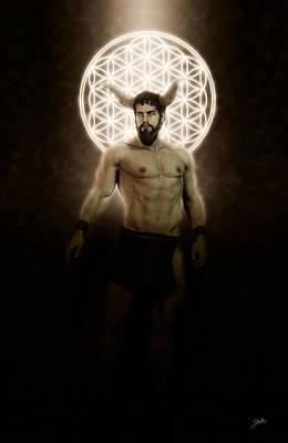 Devil Digital Art - Asmodeus, Loving Devil. by Joaquin Abella