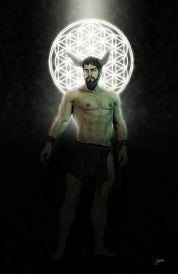 Human Beings Digital Art - Asmodeus, Sexual Demon. by Joaquin Abella