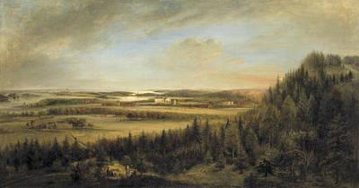 Painting - Aspa Bruk by Elias Martin