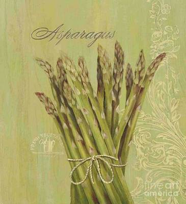 Asparagus Mixed Media - Asparagus by Blackwater Studio