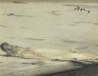Painting - Asparagus by Edouard Manet