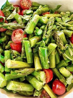 Photograph - Asparagus Salad by Renee Marie Martinez