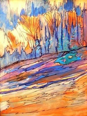 Painting - Aspen Abstract by Nikki Dalton