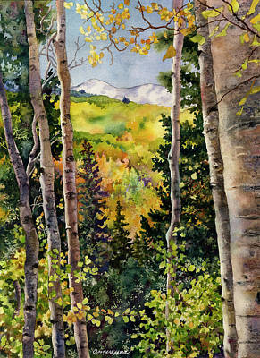 Painting - Aspen Afternoon by Anne Gifford