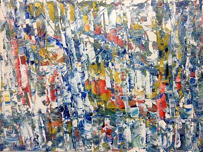 Painting - Aspen Creek by Desmond Raymond