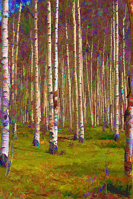 Aspen Dawn II Art Print by Brian Davis
