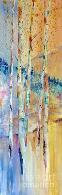 Painting - Aspen Glow 5 by Eric Fetsch