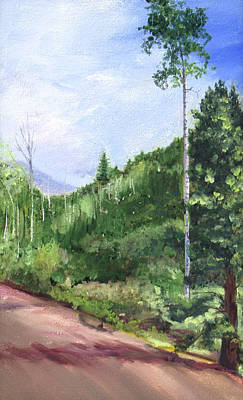 Painting - Aspen Heaven by Nila Jane Autry