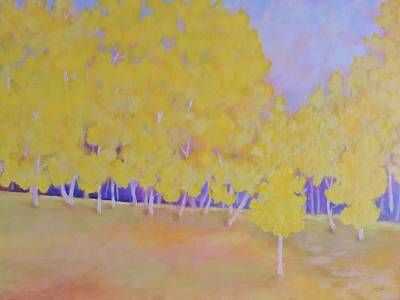 Painting - Aspen Hill by Margaret Bobb
