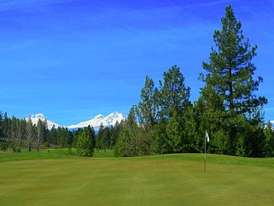 Aspen Lakes Golf Course - Hole #7 Art Print by Scott Carda