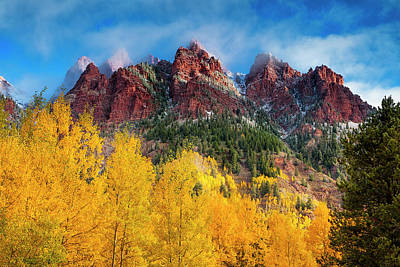 Art Print featuring the photograph Aspen Morning by Andrew Soundarajan
