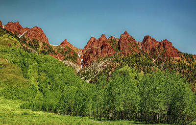 Photograph - Aspen Mountains Hdr by Judy Vincent