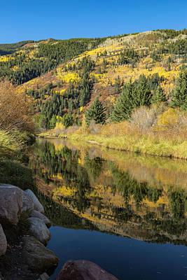 Photograph - Aspen Reflections by Jemmy Archer