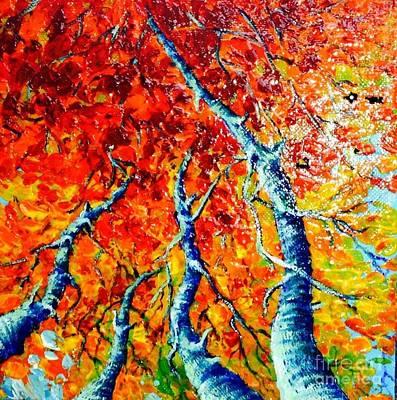 Painting - Aspen by Teresa Wegrzyn