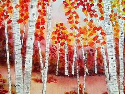 Painting - Aspen Way  by Tom Conboy