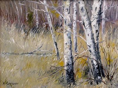 Painting - October Dream by Boris Garibyan