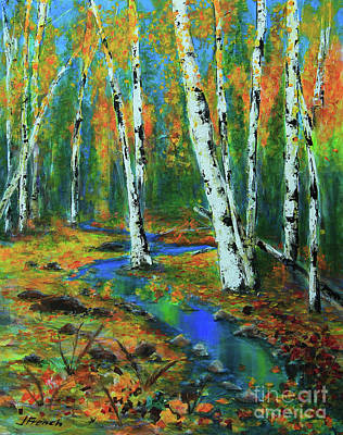 Painting - Aspens by Jeanette French