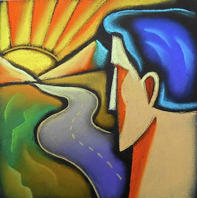 Painting -  Aspiration by Leon Zernitsky