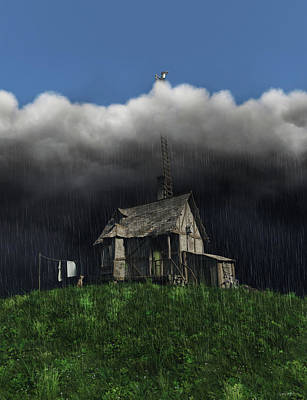 Shed Digital Art - Aspirations by Cynthia Decker