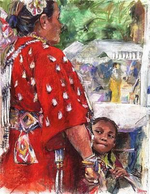 Wow Painting - Aspire by Debra Jones