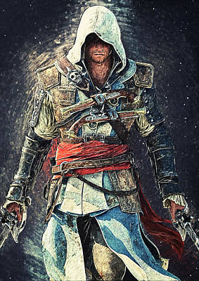 Print Photograph - Assassin's Creed by Taylan Apukovska