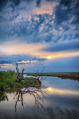 Photograph - Assateague Dusk by Rick Berk