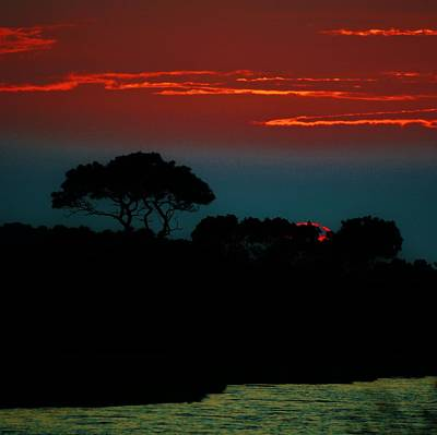 Photograph - Assateague Dusk by William Bartholomew