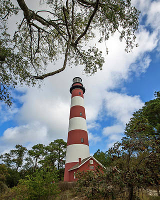 Photograph - Assateague Light by Alan Raasch