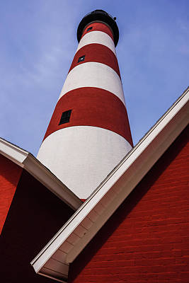 Photograph - Assateague Lighthouse Angles by Steven Ainsworth