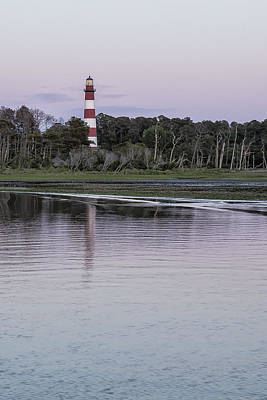Photograph - Assateague Lighthouse - Portrait by Belinda Greb