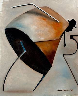 Painting - Assemblage / Swing by Martel Chapman