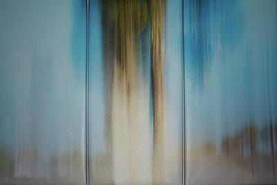 Digital Art - Assembled Triptich On Wall by Gene Norris