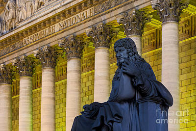 Assemblee Nationale - Paris Art Print by Brian Jannsen