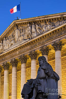 Assemblee Nationale - Paris II Art Print by Brian Jannsen