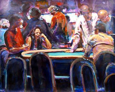Painting - Asset Management by Chuck Berk