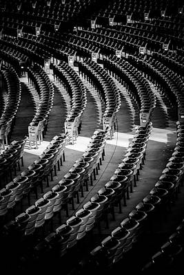 Photograph - Assigned Seating by Matthew Blum