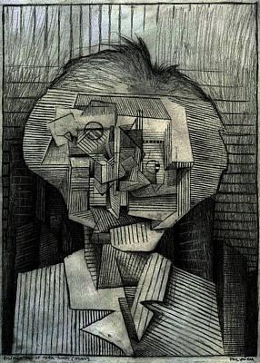 Building Blocks Drawing - Assimulation Of Twain by Paul  Van Atta