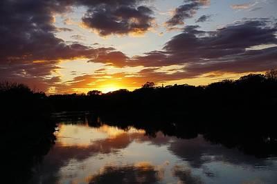 Photograph - Assiniboine River Sunset No.2 by Desmond Raymond