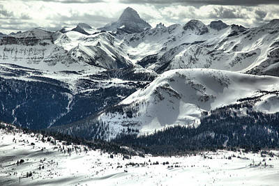 Photograph - Assiniboine View From Sunshine Village by Adam Jewell
