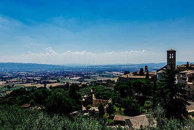 Photograph - Assisi by Cesare Bargiggia