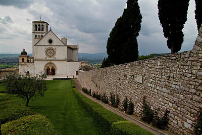 Photograph - Assisi Church by Roger Mullenhour