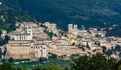 Photograph - Assisi Italy by Roger Mullenhour