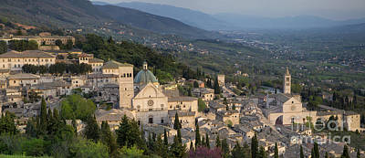 Chiara Photograph - Assisi Pano by Brian Jannsen