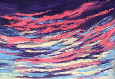 Painting - Associations - Sky And Clouds Collection by Anastasiya Malakhova
