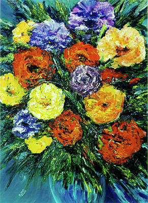 Assorted Flowers #191 Art Print by Donald k Hall